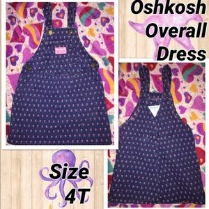 Oshkosh Overall Dress size 4T